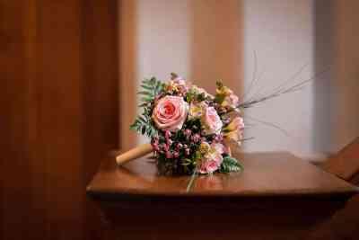 bruidsfotografie bruidsboeket trouwfoto