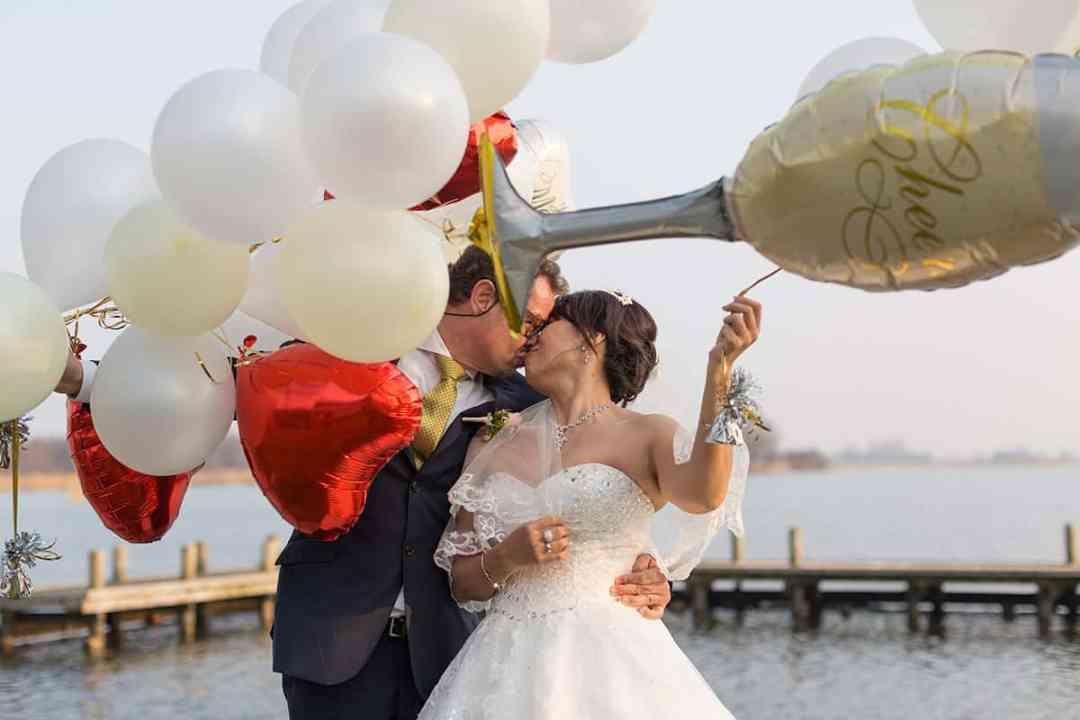 ballonnen op je bruiloft