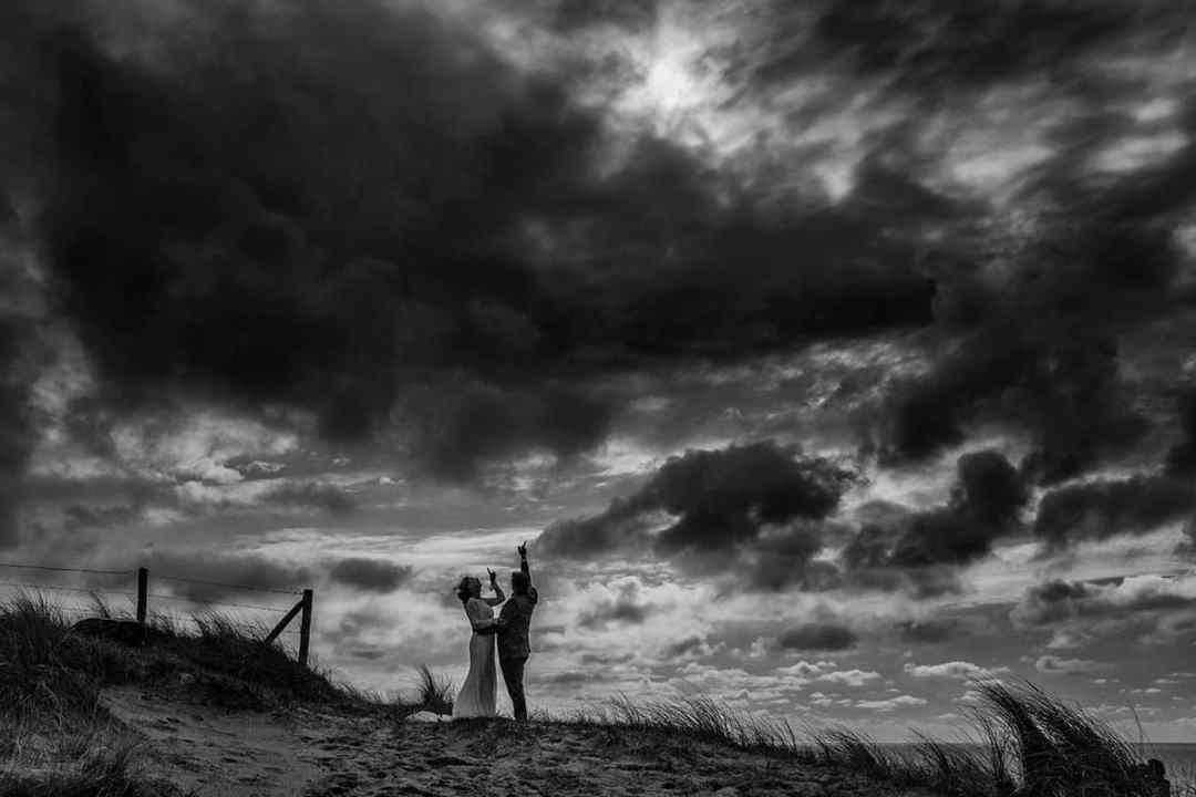 bruidsfotografie duinen Noordwijk