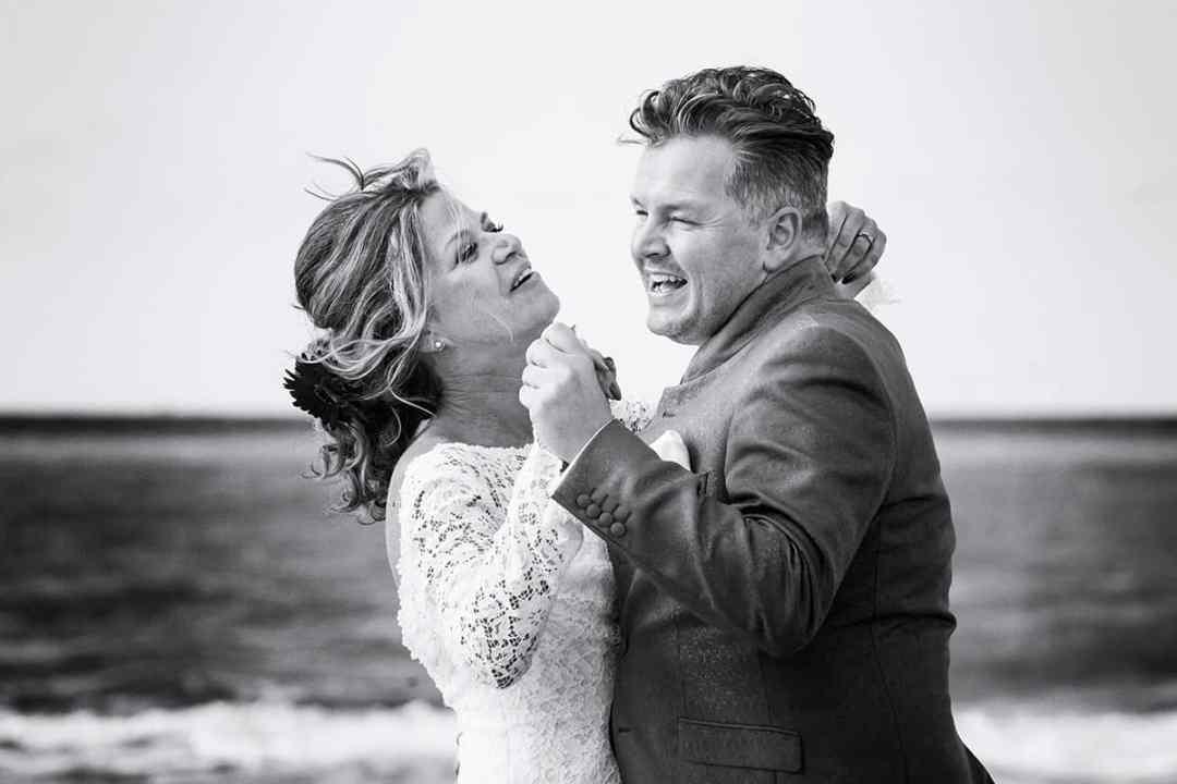 bruidsfotografie strand Noordwijk