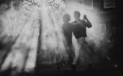 Eerste dans bruiloft