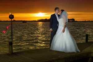 trouwreportage Vinkeveense Plassen bruidsfotografie