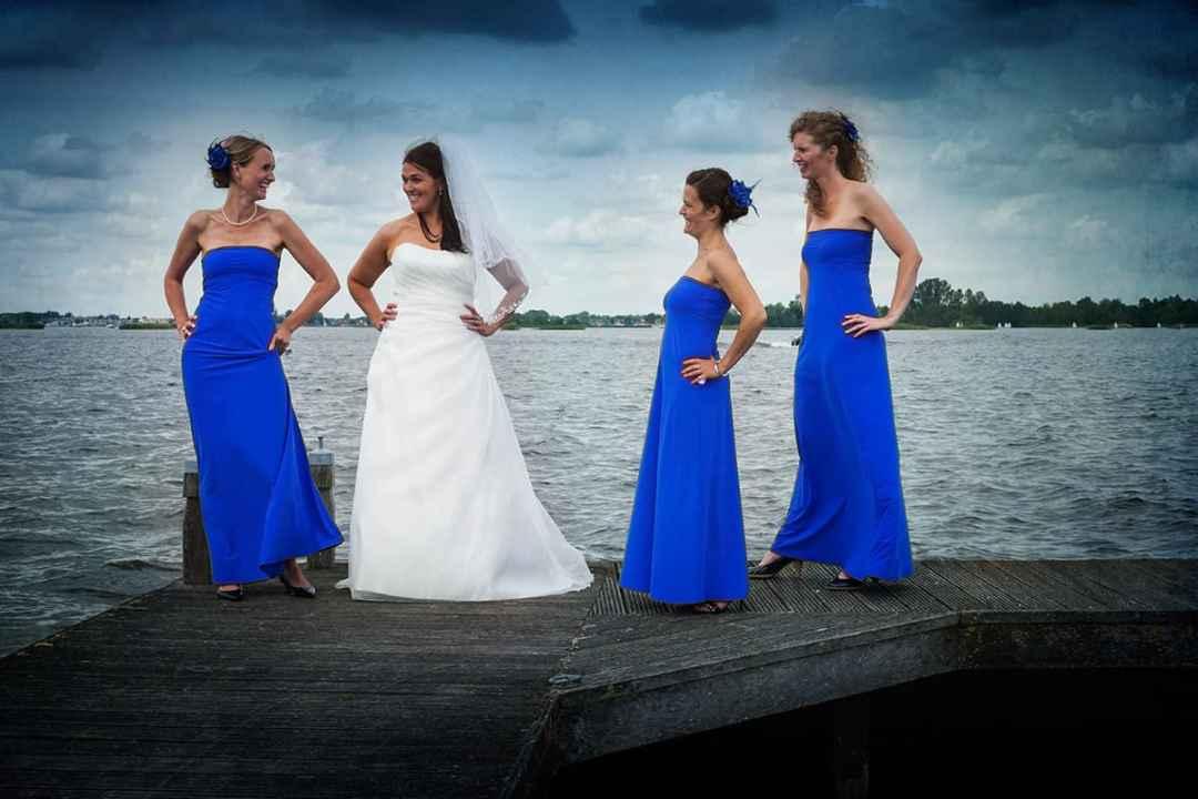 bruidsfotografie groepsfoto