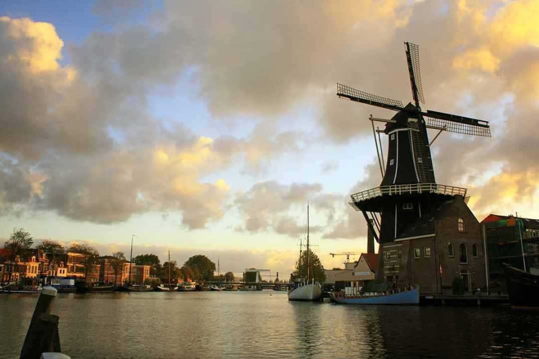 fotograaf Haarlem molen De Adriaan
