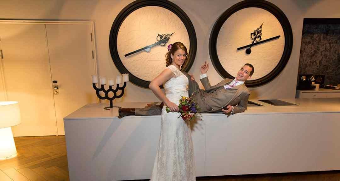 trouwen Andaz Hotel Amsterdam bruidsfotografie trouwfotograaf
