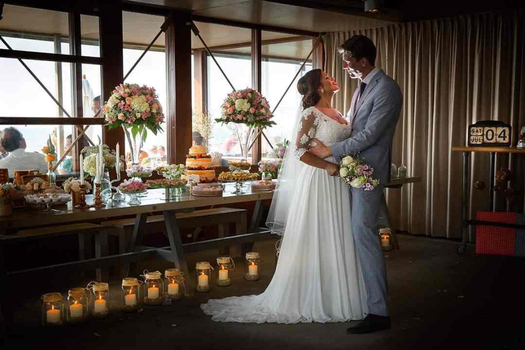 korte fotoshoot bruiloft