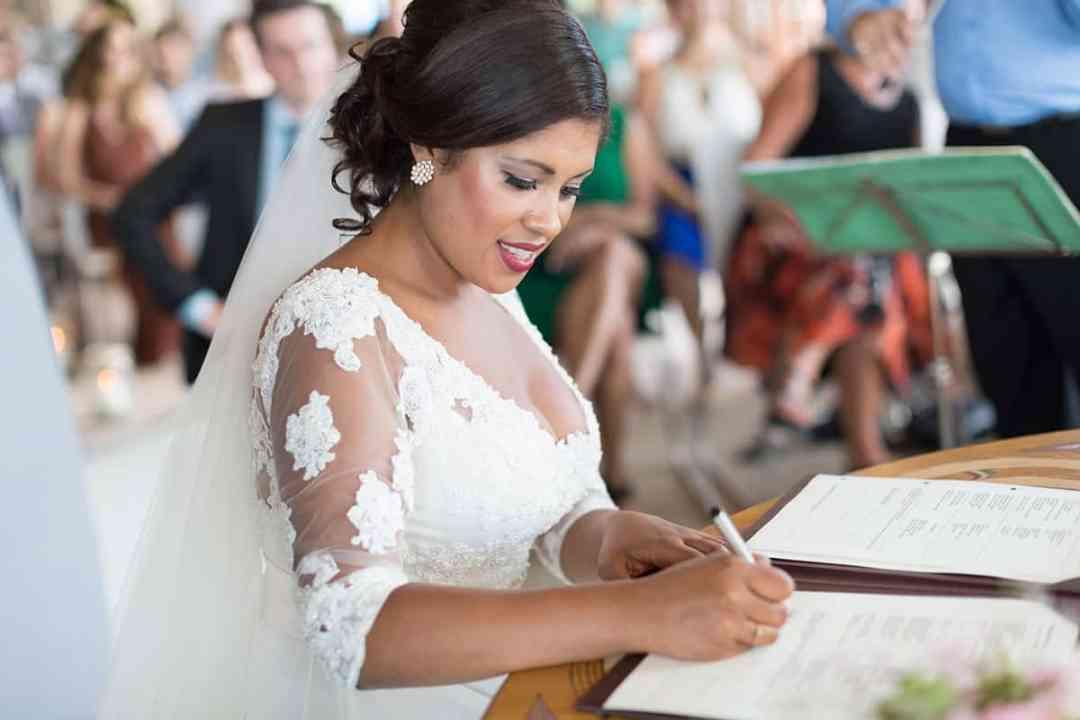 huwelijksceremonie bruidsfotografie