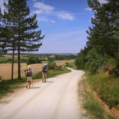 Camino Francés bij San Juan de Ortega