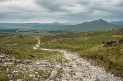 Uitzicht op Inagh Valley