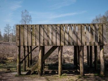 Uitzichtplatform bij een Celtic Field