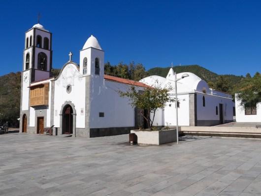 Iglesia de San Fernando Rey, bij het beginpunt van de wandeling