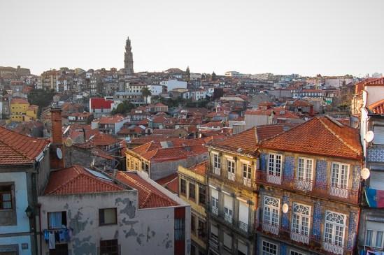 Binnenstad van Porto