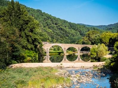 De oude brug van Saint-Jean-du-Gard