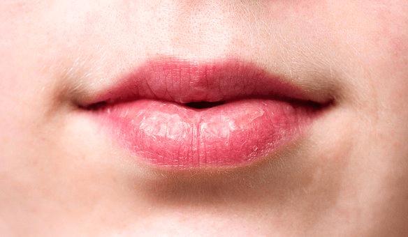 dry winter lips