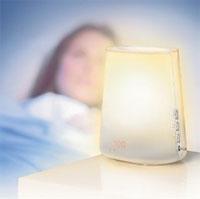 Wake-up light for winter depression