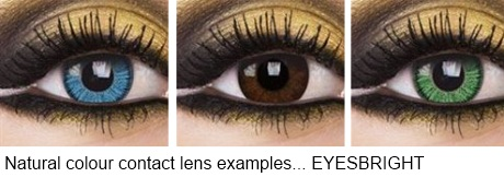 coloured contact lens - Eyesbright