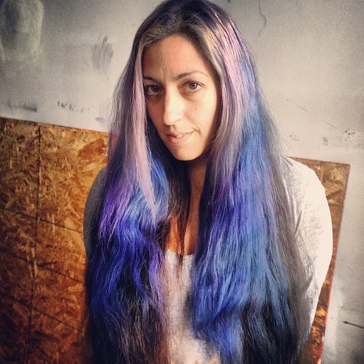 how to grow out dyed hair