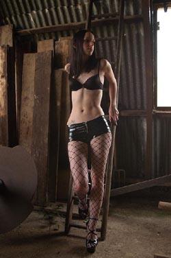 pepsi goth model