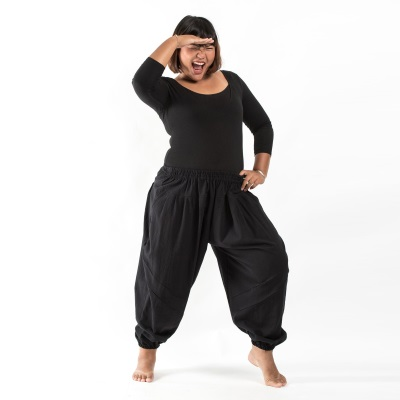 plus size harem pants