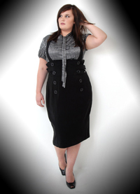 indie, goth, retro, vintage plus-size fashion