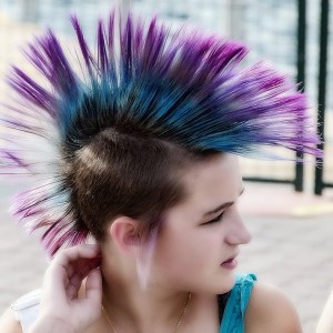punk hair dye tips