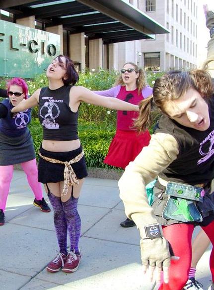 Radical cheerleading