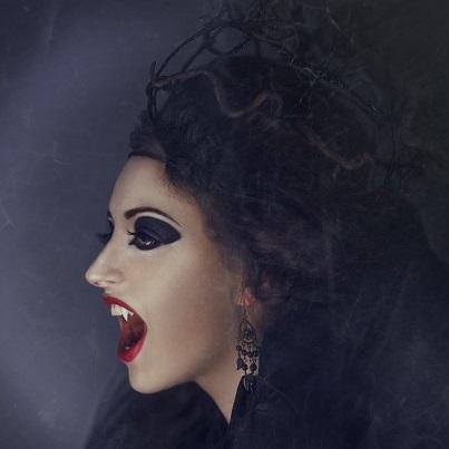 vampire hairstyles