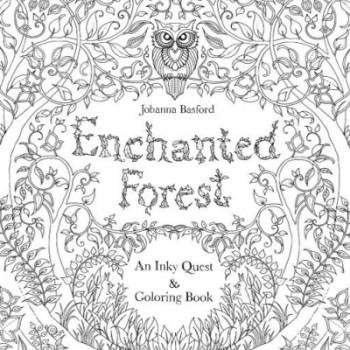 enchanted forest colouring book - Best Coloring Books For Adults