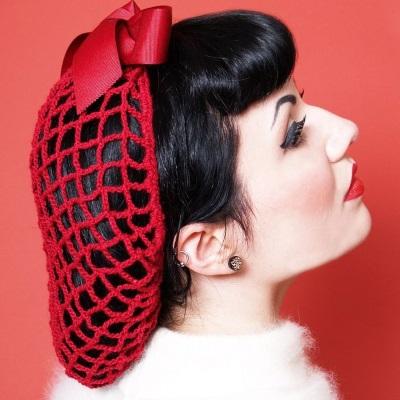 vintage hair nets 1940s snood