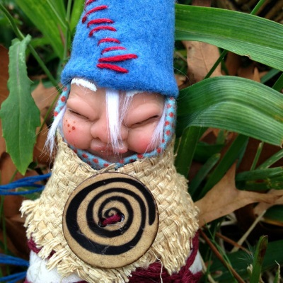 faerie art dolls baby gnome