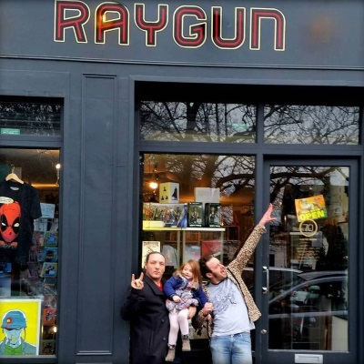 raygun east comic shop