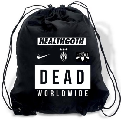 health goth gym bag