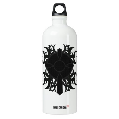 health goth water bottle