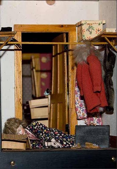 nutshell studies red bedroom detail