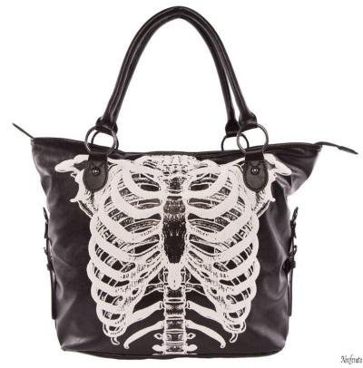 Nosferatu gothic clothing iron fist bag