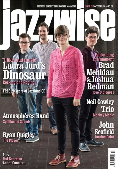 Dinosaur Laura Jurd on Jazzwise cover
