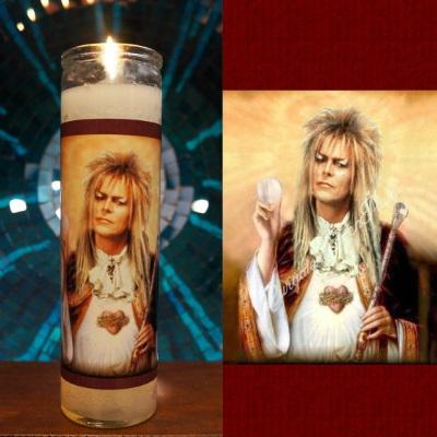 Jareth devotional candle