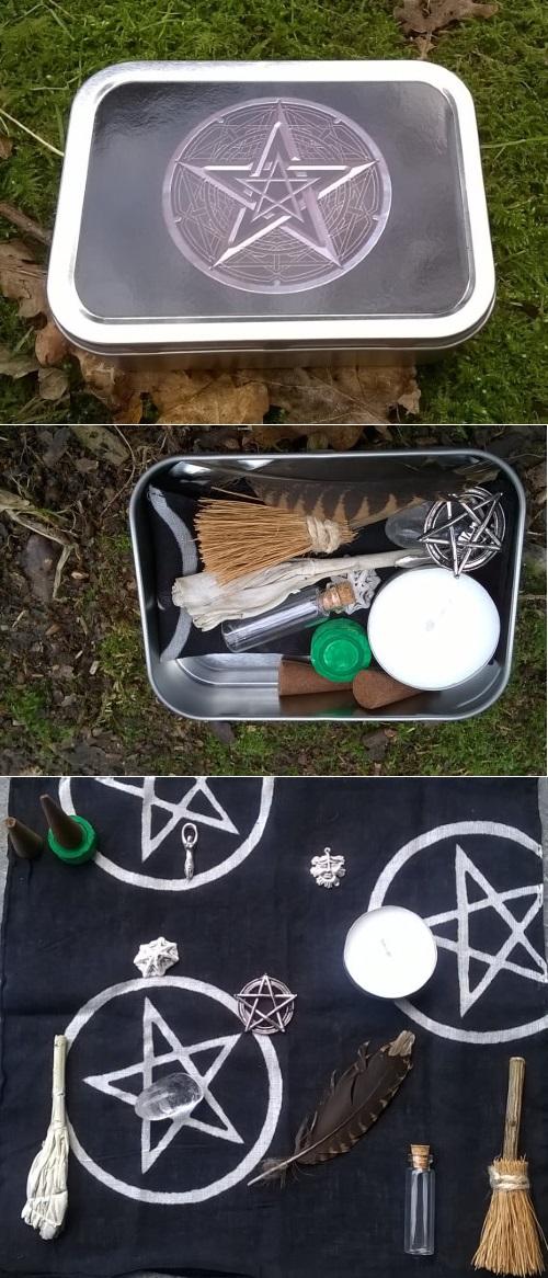 gothic portable altar