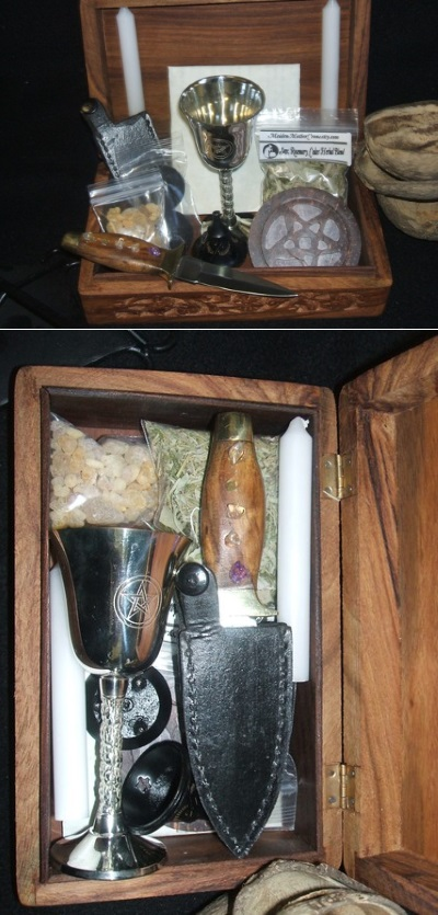 portable altar basic ritual