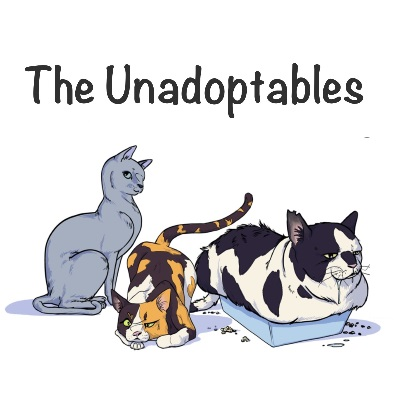 unadoptables web comic about cats