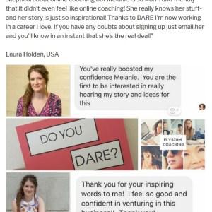 elysium coaching dare testimonials