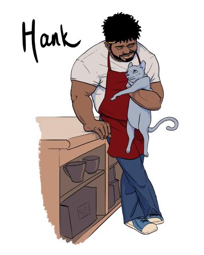 Unadoptables Comic Hank