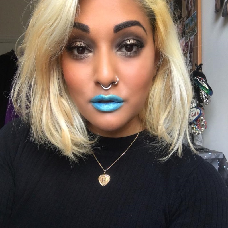 Vegan blue lipsticks - hypnosis - Impulse Cosmetics - ram