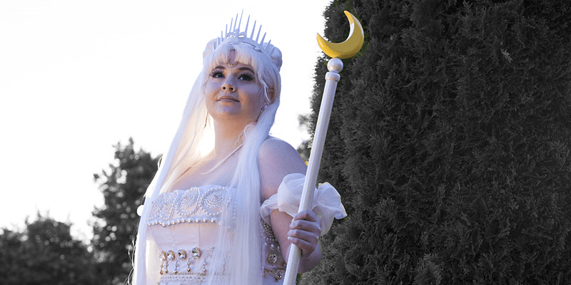 anime cosplay conventions princess serenity