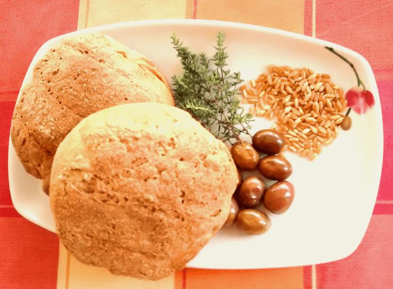 ancient greece vegan pelanos bread