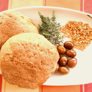 ancient greece vegan pelanos bread