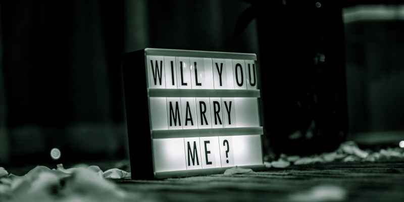 feminist wedding proposal