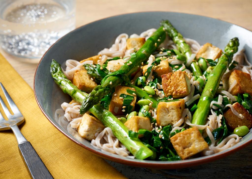 soba linguine tofu recipe