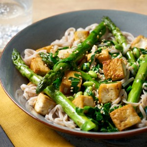 soba linguine tofu recipe