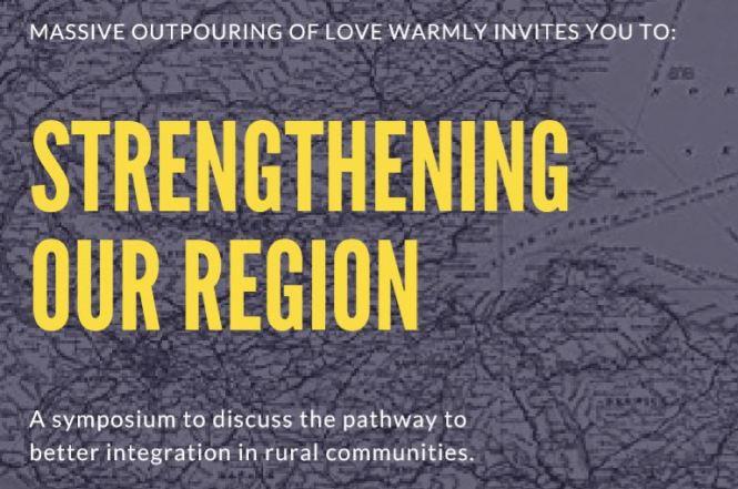 strengthening our region banner
